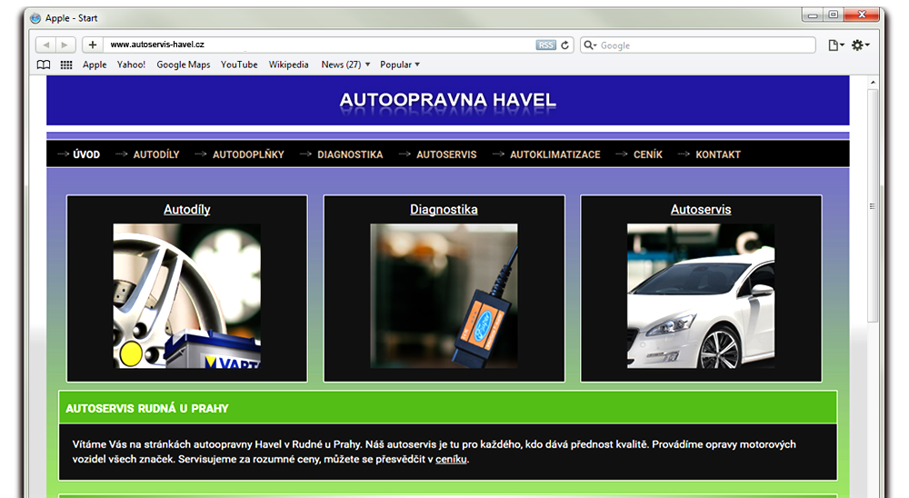 baner-autoservis-havel